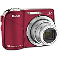Kodak Easyshare C190 Digital Camera (Red) Noticeable Review Image