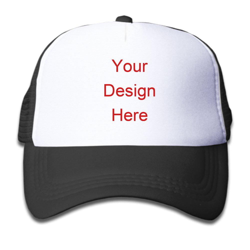 Amazon.com  Custom Printed Hats Foam Trucker Hats Plain Trucker Hats Unique  Snapbacks Trucker Cap Youth Snapback Trucker Hat (Black)  Clothing c152818f894