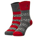 Jordan Elephant Striped Crew Socks 2-Pack 10C-3Y/5-7