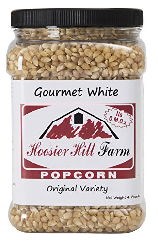 Hoosier Hill Farm Original White, Popcorn Lovers Jar, 4 Pound