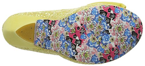 Irregular Choice Nick Of Time, Scarpe Col Tacco Donna Yellow (Yellow)