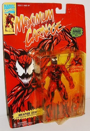 Spider-man Maximum Carnage with bonus collector (Maximum Pin)