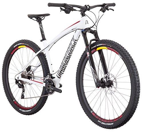 "Diamondback Bicycles Overdrive Pro 29er Hardtail 18"" Frame Mountain Bike, Medium/29"", White"