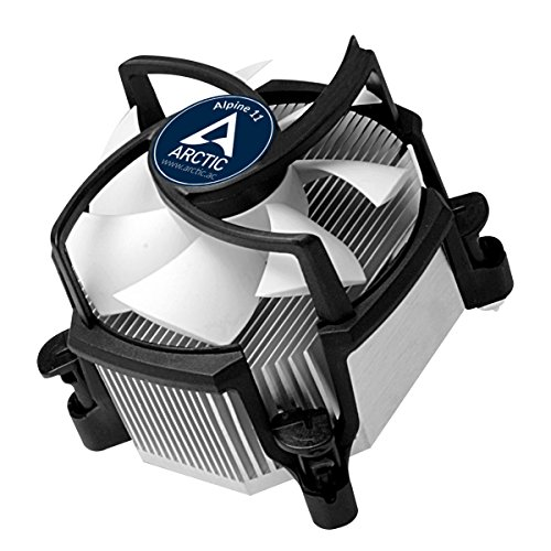 ARCTIC Alpine 11 - CPU cooler for Intel sockets, through 92 mm PWM fan up to 95 Watt cooling performance - With pre-applied MX-2 thermal compound - Simple mounting system (Pentium Socket)