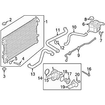 Amazon Com Ford Bb5z 8286 G Radiator Coolant Hose Automotive