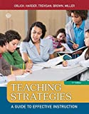 img - for Teaching Strategies: A Guide to Effective Instruction (MindTap Course List) book / textbook / text book