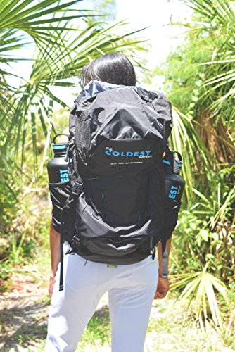 The Coldest Water The Growler Backpack – Carries Two Growlers, Best for Sports Camping Hiking Athlete Outdoors Backpack Growlers not included