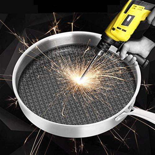 AXAA Poêle à Frire antiadhésive poêle à Steak Pot Omelette cuisinière à Induction Application de gaz