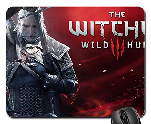 The Witcher 3 : Wild Hunt Mouse Pad, Mousepad (10.2 x 8.3 x 0.12 inches)