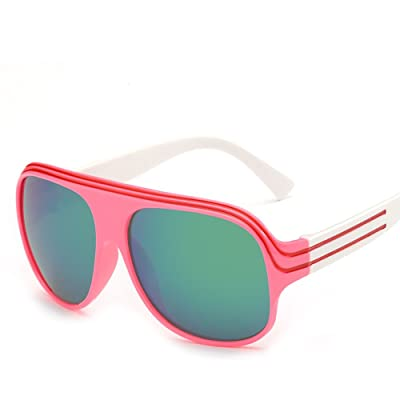 Child Sunglasses,AODEW Square Big Frame Kids Girl Boys Sunglasses for Baby and Children UV Protection