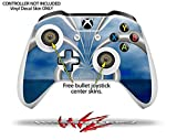 Waterworld - Decal Style Skin Set fits XBOX One S Console and 2 Controllers (XBOX SYSTEM SOLD SEPARATELY)