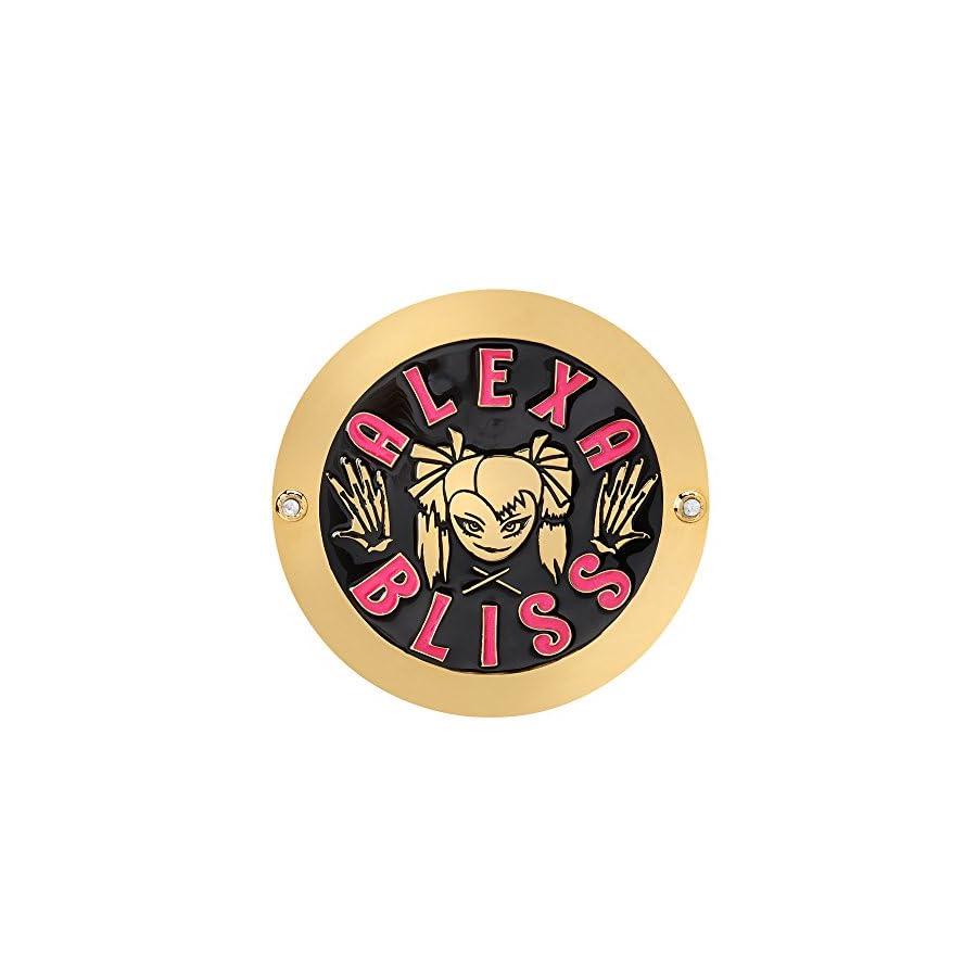 WWE Alexa Bliss Championship Replica Side Plate Box Set