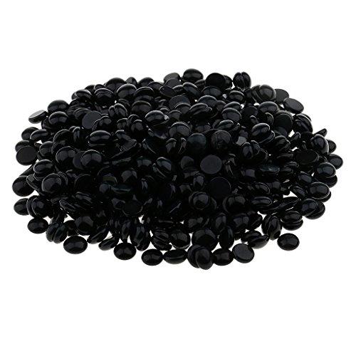 MagiDeal 50g Hard Hair Removal Wax Depilatory Beans Hot Film Beads No Strip Pellet 8 Scents Aloe Lavender Chamomile Chocolate Blackcurrant Milk Rose Honey - Blackcurrant