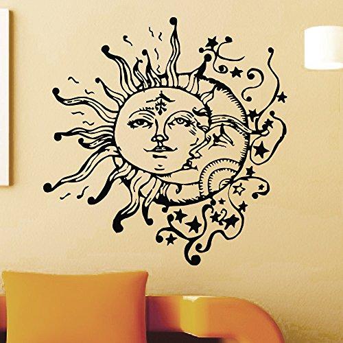 Sticker Decals Crescent Bedroom Interior