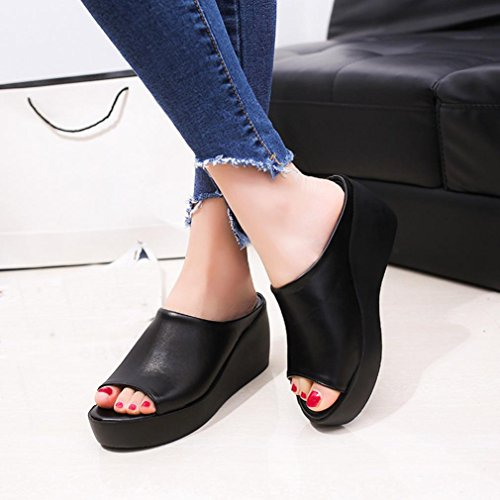 Women femme pour Sandals Noir Sandales MML d6nxqzOWd