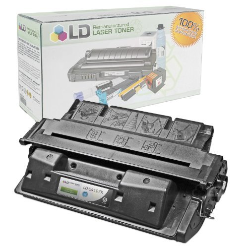 Remanufactured Replacement Laser Toner Cartridge for Hewlett Packard C4127X (HP 27X) Black