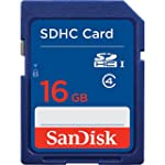 SanDisk 16GB Class 4 SDHC Memory Card...
