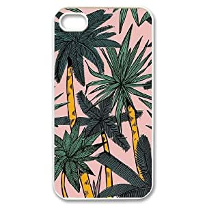 Hjqi - Custom Aloha Palm Trees Phone Case, Aloha Palm Trees Personalized Case for iPhone 4,4G,4S