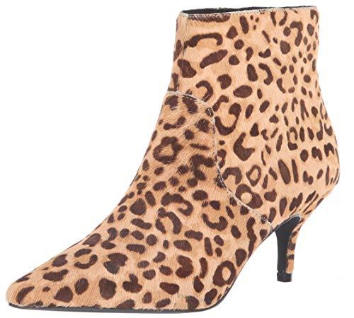 Steve Madden Women's Rome-L Ankle Boot, Leopard, 10 M US