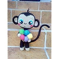 Monkey Changuito Amigurumi Peluche Tejido a mano