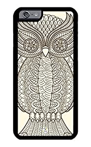 iZERCASE iPhone 6 PLUS Case Owl Abstract RUBBER CASE - Fits iPhone 6 PLUS T-Mobile, Verizon, AT&T, Sprint and International