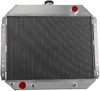 3Row Aluminium Radiator Fit 66-79 Ford F100 F150 F250 F350 Pickup Bronco V8 GAS