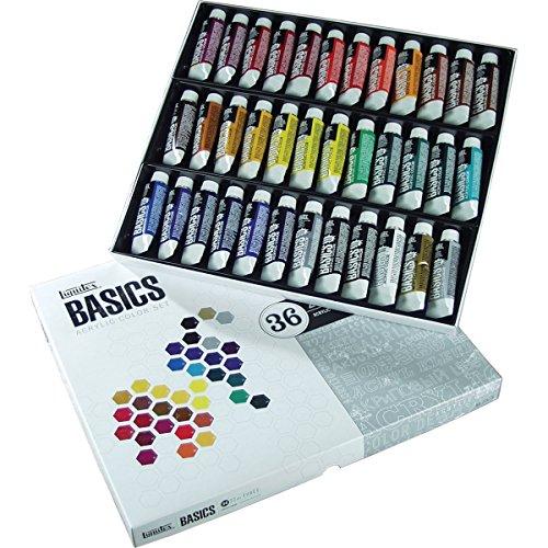- Liquitex Basics Acrylic Paint, 22ml, Assorted Colors