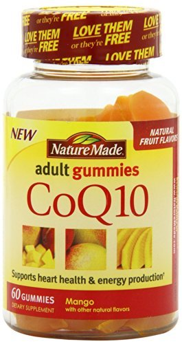 Nature Made CoQ10 Gummies adulte, 60 Count (Pack