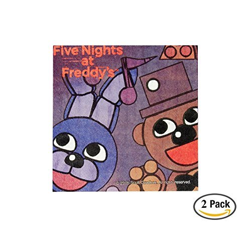 Five Nights at Freddy's Beverage Napkins (16), 10 inch, 2 ()