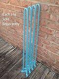 Turquoise 38 Inch Hairpin Legs - Per Leg