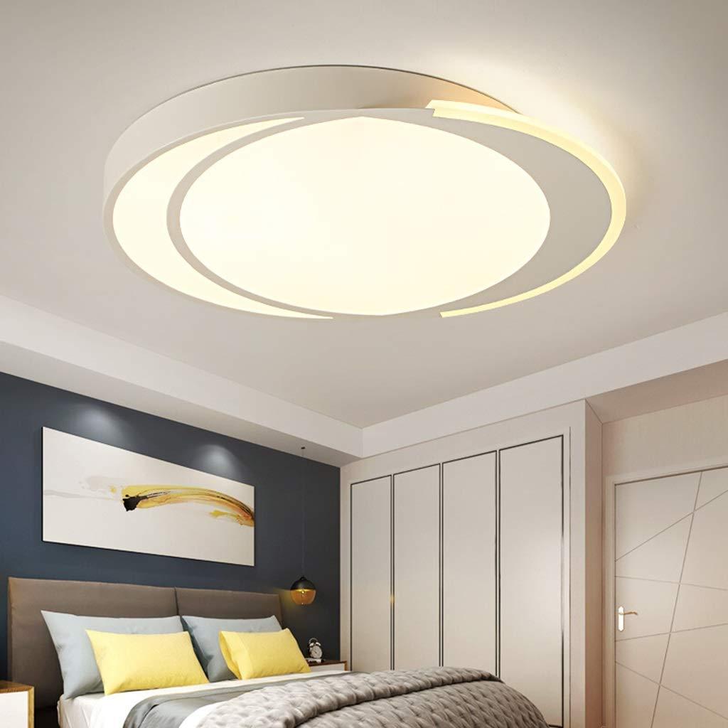 Luz de techo LED Cálido Romántico Simple Ambiente moderno Sala de ...