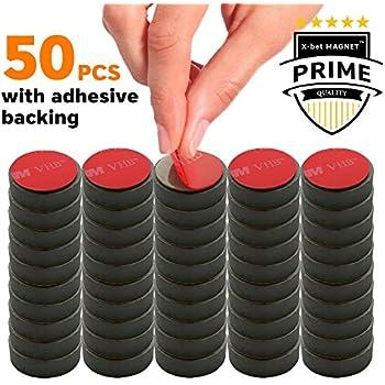 Amazon Com Magnet Adhesive Back Square 3 4 Inch