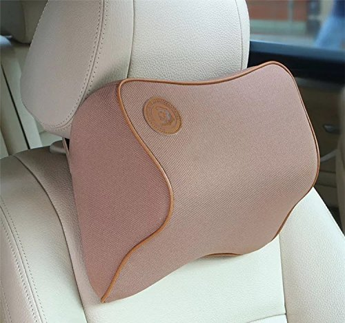 ACECLUB Comfortable Memory Foam Car Neck Pillows Lumbar Pillows For Honda Car Seat