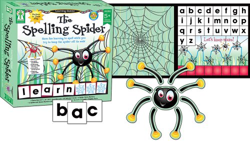 The Spelling Spider Educational Board Game