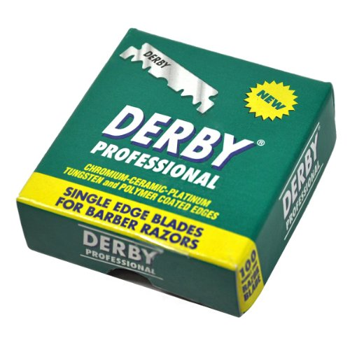 Derby Professional Single Blades straight product image