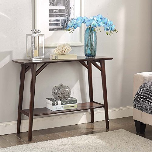 Briarwood Home Decor Espresso Finish Wood Console Table (Sofa Briarwood)
