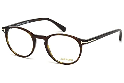 f5ed97ec5d Amazon.com  Tom Ford Eyeglasses FT5294 052 Havana 48MM  Clothing
