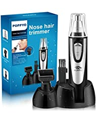 Nose Hair Trimmer for Men Women, POPPYO 2018 Professional...