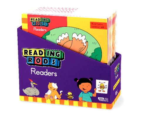 ETA hand2mind Reading Rods Readers: Word Families (Set of 28) (Reading Rods Readers)