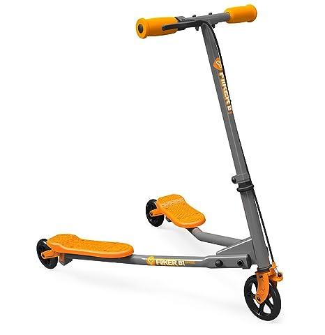 Yvolution Y Fliker B1 Base Gris/Naranja: Amazon.es: Deportes ...