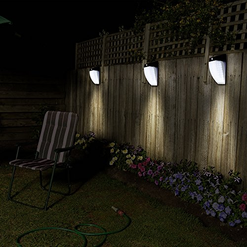 Outdoor Solar Lights 36led Motion Sensor Wall Mount Light