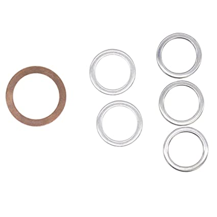 Differential and Transmission Drain Plug Crush Washers Gaskets for Toyota  4runner Tacoma Tundra FJ cruiser Land Cruiser, Replacement for the part#