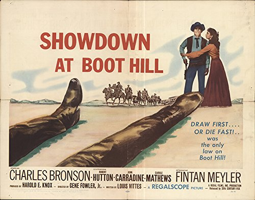 Showdown at Boot Hill 1958 Authentic 22