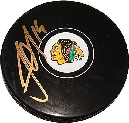 Ben Smith Autographed Chicago Blackhawks Puck #1 Autographs-original Sports Mem, Cards & Fan Shop