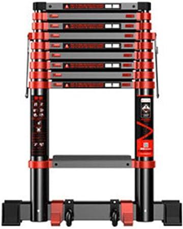 GUTYRE Escalera de Espiga, Escalera Plegable multifunción, Escalera telescópica de Aluminio, Escalera telescópica, para Exteriores, C, 2.3M: Amazon.es: Hogar