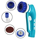 IFLYING Power Scrubber, MINI Handle Electric Washing Machine with Rechargeable Battery for Kitchen Bathroom