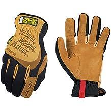 Mechanix Wear - Leather FastFit Gloves (Large, Brown/Black)