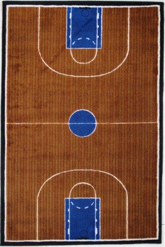 LA Rug Basketball Court Rug 5'3