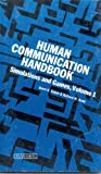 Human Communication Vol. 1 : Simulations and Games, Ruben, Brent D. and Budd, Richard W., 0810455242