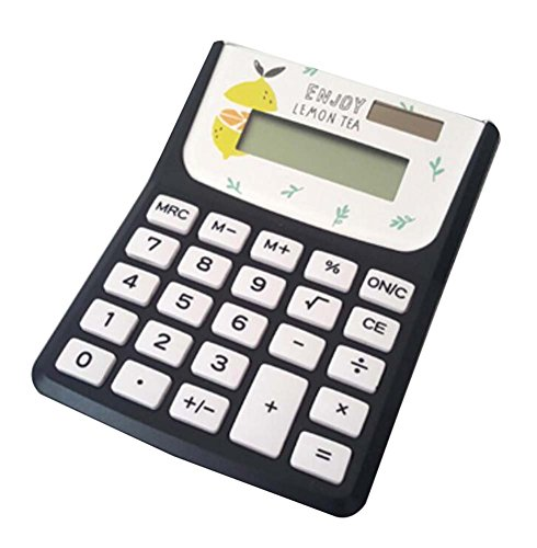 Cute Calculator Stylish Simple Solar Calculator, Lemon by DRAGON SONIC